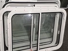 铝质风雨密双移窗案例(14)