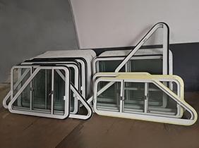 铝质风雨密双移窗案例(10)